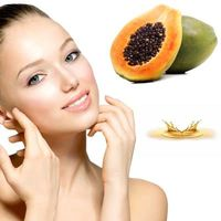 Huile de papaye en cosmétologie.