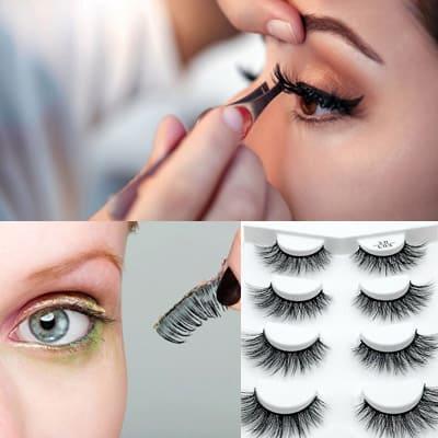 Créez l'effet de faux cils avec du mascara seul